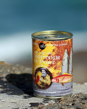 FRENCH SOUP TIN CANDLE