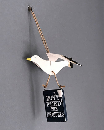 DON'T FEED THE SEAGULLS HANGER