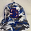 Thumbnail: Camo Blue Staunton Braves SB Logo Flex Fit Hat LG-XL