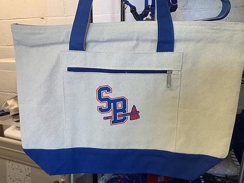 SB Tote Bag with Zipper