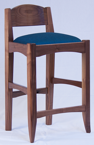 Walnut Lowback Chair