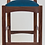 Thumbnail: Walnut Lowback Chair