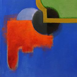 Hitch #art #painting #acrylic #abstract #composition #colors #medita