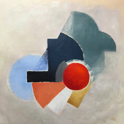 Mutual interaction#art #fineart #painting #abstract #geometric #rea