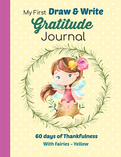 Gratitude Journal Yellow Fairy