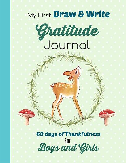 Gratitude journal woodland