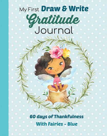Gadtitude journal brown skin little girl fairy