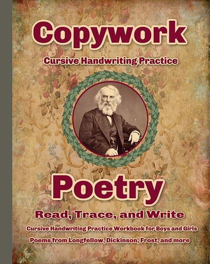 Poetry Copywork workbook