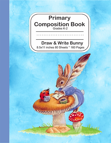 Draw & Write Notebook - Bunny