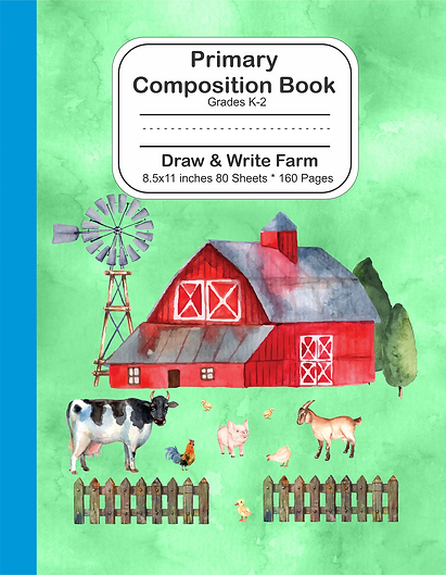 Draw and write notebook farm