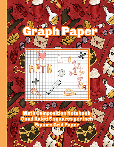 Harry Potter Graph Paper Notebook