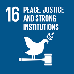 16. Peace, Justice & Strong Institutions