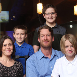 Office Administrator Jamie Hazard & Family