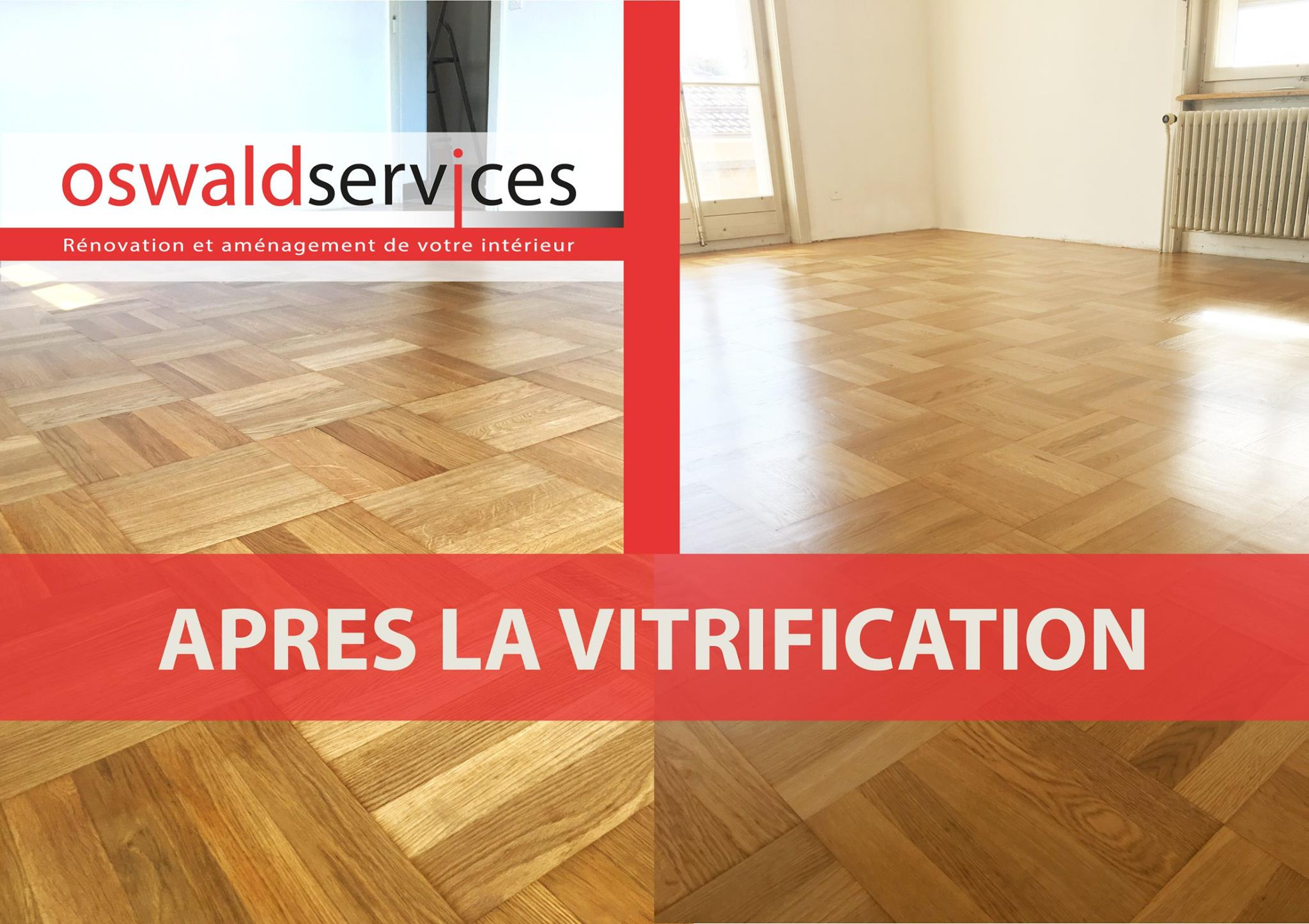 Vitrification d'un parquet [2/2]