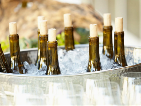 Best serving temperatures for different styles of wine.