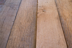Reclaimed Wood Being Used