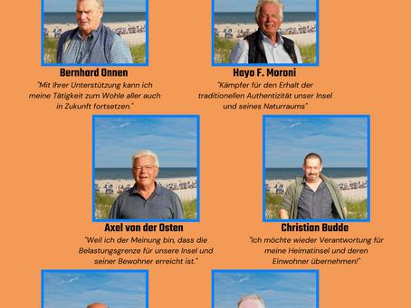 Unsere Kandidaten für die Kommunalwahl 2021