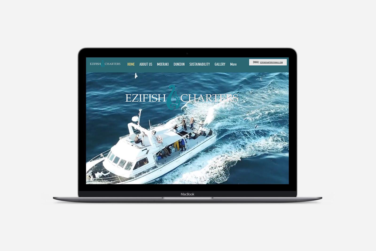 Ezifish Charters Website