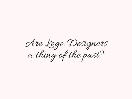 Are Logo Designers a thing of the past?