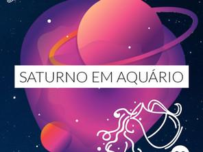 Saturno em Aquário e responsabilidade social