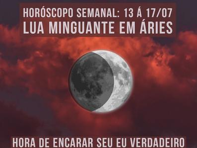 Horóscopo semanal: 13 á 17/07/2020 - lua minguante em Áries