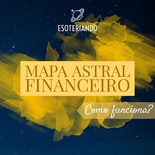 Mapa Astral Finaceiro