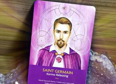 Saint Germain - Oração e invocação para abundância divina