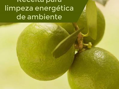 Receita para limpeza energética de ambientes - Spray energético