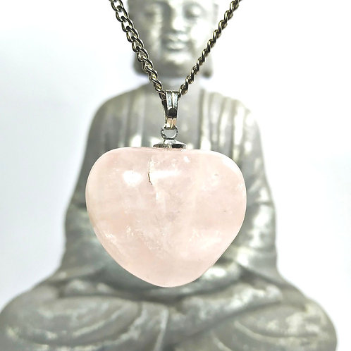 Colar quartzo Rosa - A pedra do Amor é Harmonia