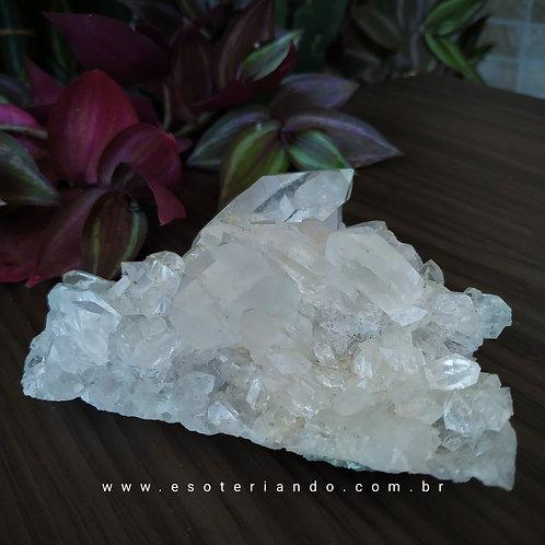 Drusa de Cristal Límpida 184g