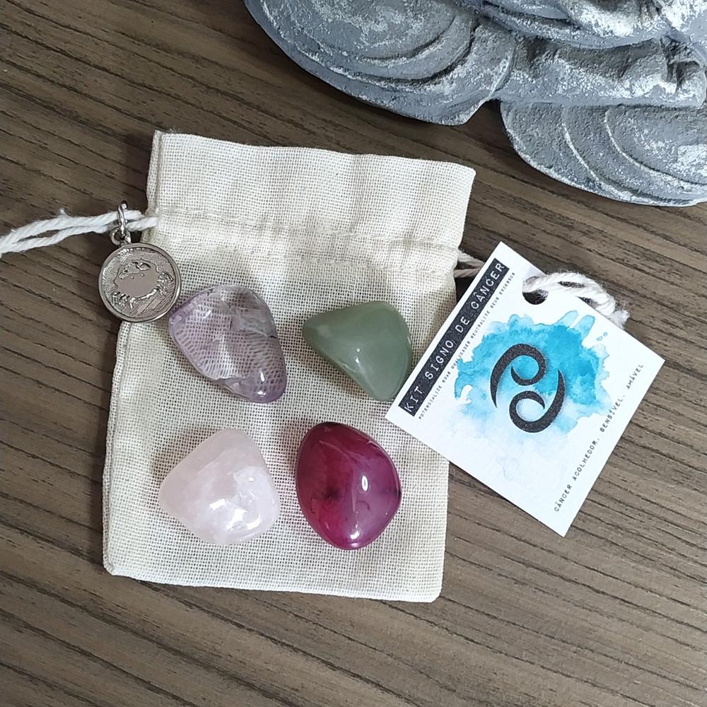 desenvolvido pela nossa Astróloga Michelle Christina contém 4 pedras que potencializam suas qualidades e neutralizam os excessos.