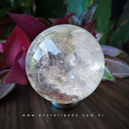 Esfera quartzo transparente
