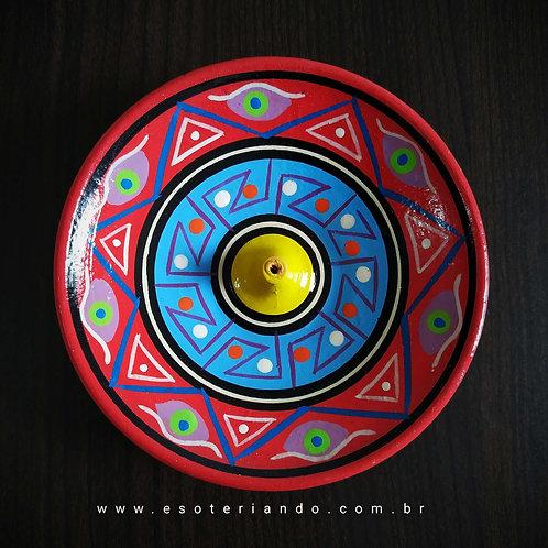 Incensário Peruano - Vermelho