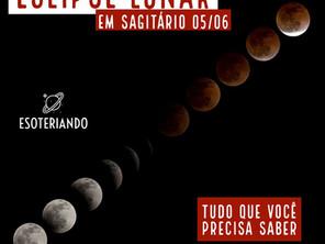 Tudo que você precisa saber sobre o eclipse lunar em sagitário 05/06/2020
