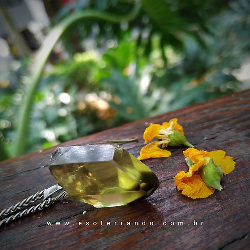 Colar Ponta de Green Gold