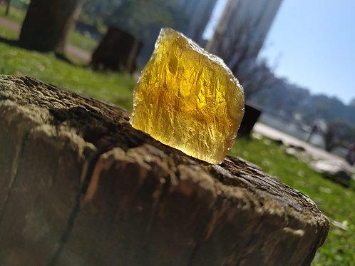 Fluorita Amarela ( Peça de Colecionador )