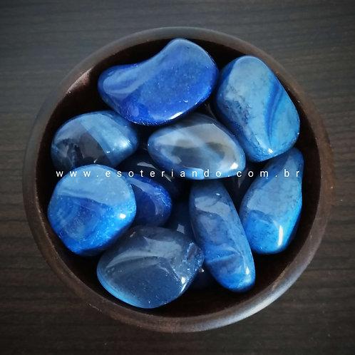 Ágata Azul - intelecto e sabedoria