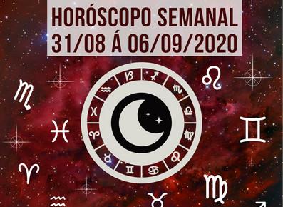 Horóscopo semanal - 31/08 á 06/09/2020