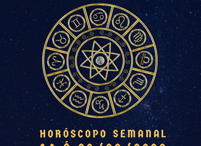 Horóscopo semanal 14 á 20/09/2020
