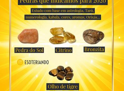 Pedras e Cristais  2020 - Cristais que vão trazer a força criadora para o seu  2020