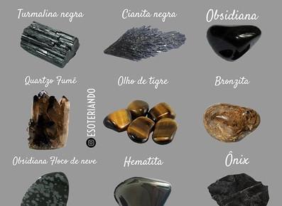 10 cristais que ajudam na proteção energética.