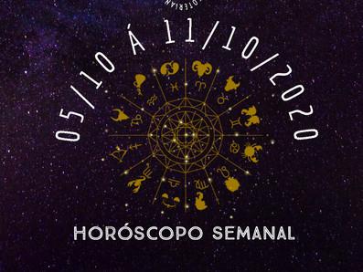 Horóscopo semanal - 05 á 11/10/2020