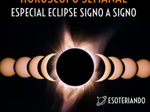 Horóscopo semanal de 22 á 28/06/2020 - Especial eclipse signo á signo