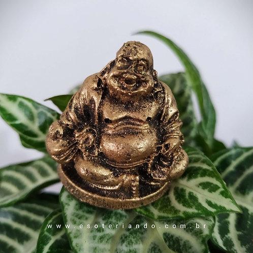Buda da Fortuna Dourado - P