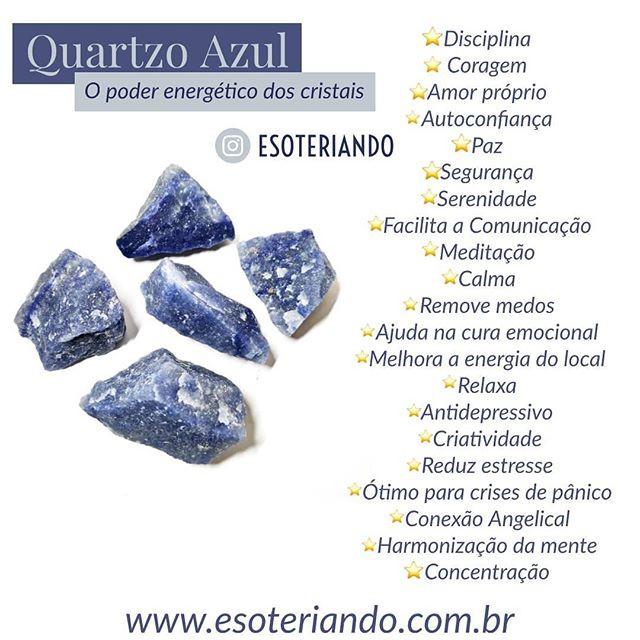 O quartzo azul é um cristal fácil de ser encontrado, acessível e incrível que podemos incluir no nosso dia a dia.