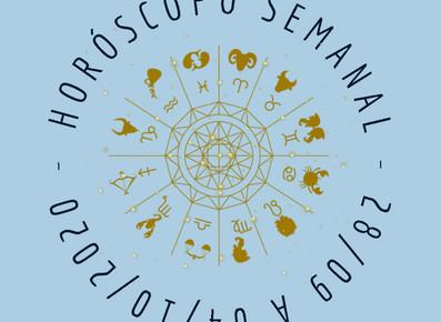 Horóscopo Semanal - 28/09 á 04/10/2020