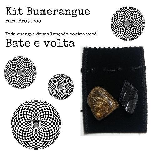 Kit Bumerangue - Turmalina e Bronzita