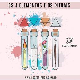 Os 4 Elementos e os rituais