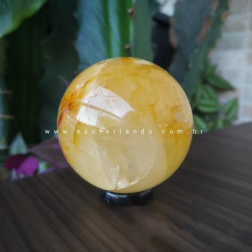 Esfera G de Hematóide - Agente de cura ouro 259g