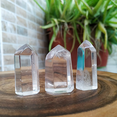 Mini Obelisco de Cristal lapidado